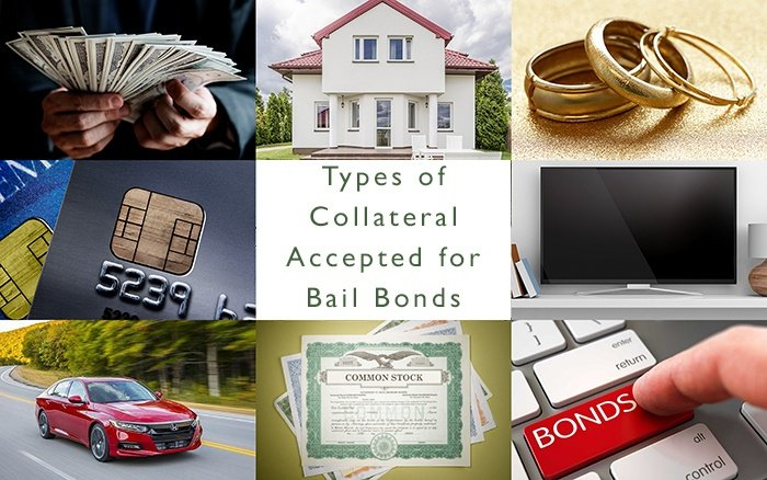 Types of Collateral Accepted for Bail Bonds